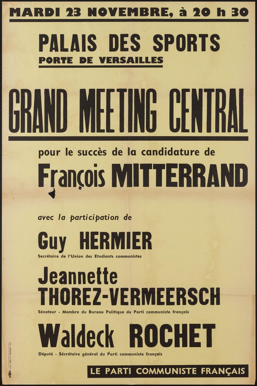 Ressource «Mardi 23 novembre […], Palais des Sports Porte de ...